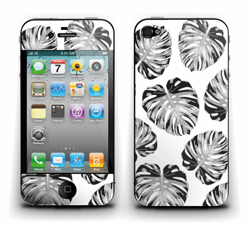 Feuillage exotique Skin IPhone 4/4s