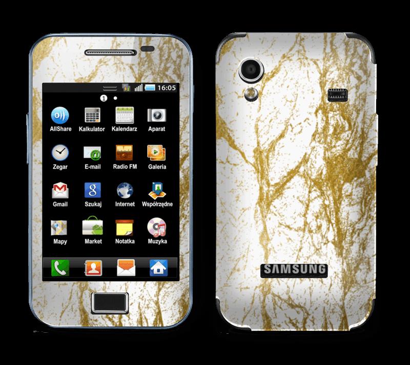 Gull og Hvitt Skin Galaxy Ace