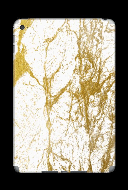 Gull og Hvitt Skin IPad Mini 4