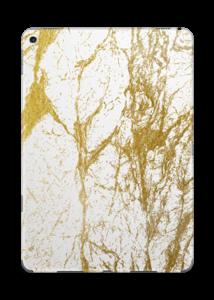 Gull og Hvitt Skin IPad Pro 9.7