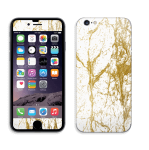 Gull og Hvitt Skin IPhone 6/6s