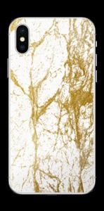 Gull og Hvitt Skin IPhone X