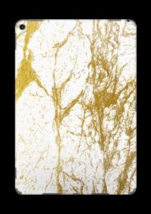 Branco e Dourado Skin IPad Pro 10.5