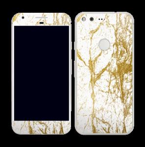 Gull og Hvitt Skin Pixel