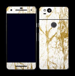 Gull og Hvitt Skin Pixel 2