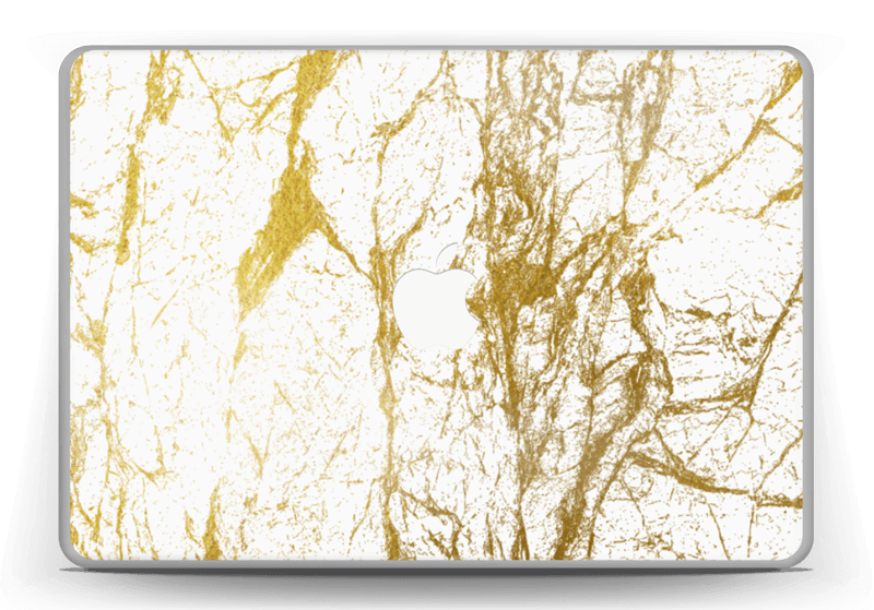 """Gull og Hvitt Skin MacBook Pro 13"""" -2015"""