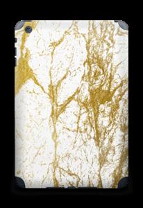 Gull og Hvitt Skin IPad mini 2 back