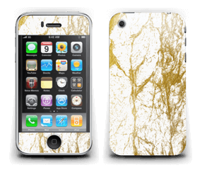 Gull og Hvitt Skin IPhone 3G/3GS