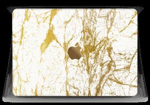 Gull og Hvitt Skin MacBook 12
