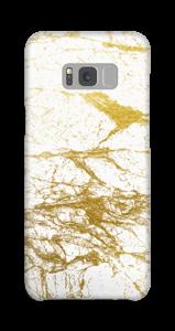 Goud en wit  hoesje Galaxy S8 Plus