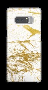 Goud en wit  hoesje Galaxy Note8