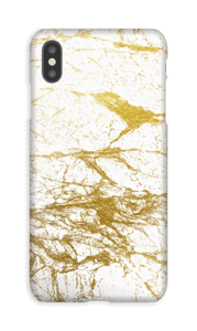 Oro  funda IPhone XS Max