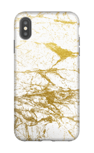 Goldy & Whity  cover IPhone XS Max tough