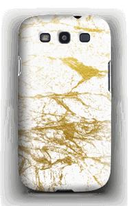 Goud en wit  hoesje Galaxy S3