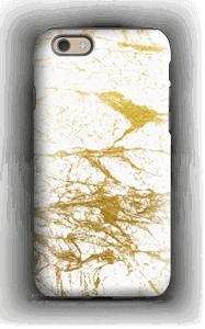Branco e Dourado Capa IPhone 6 tough