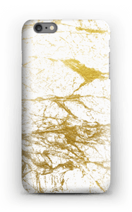 Kultainen ja valkoinen kuoret IPhone 6s Plus