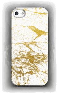 Goud en wit  hoesje IPhone SE