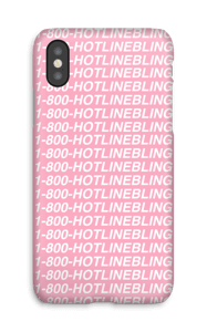 Hot Line Bling hoesje IPhone X