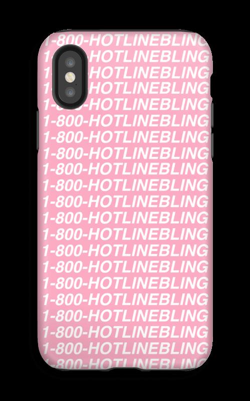 Hot Line Bling kuoret IPhone X tough
