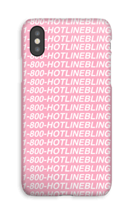 Hot Line Bling deksel IPhone XS