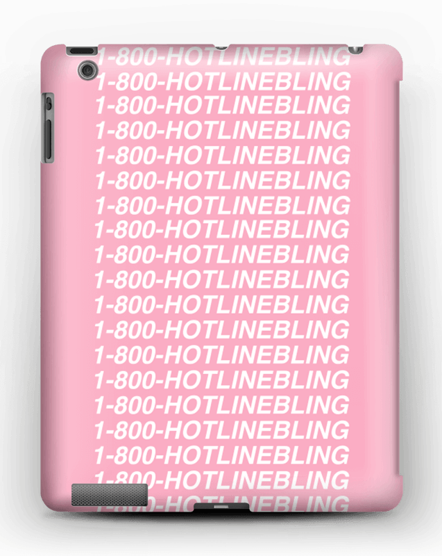 Hot Line Bling kuoret IPad 4/3/2