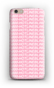 Hot Line Bling hoesje IPhone 6 Plus