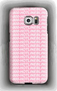 Hot Line Bling deksel Galaxy S6 Edge