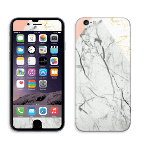 Marmor, rosa og gull Skin IPhone 6/6s