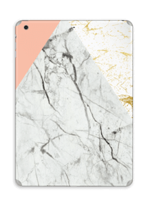 Marmor, rosa og gull Skin IPad Air