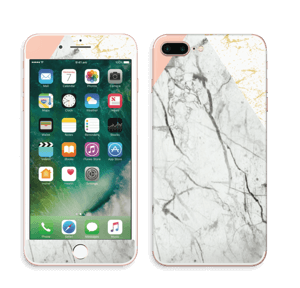 Marmor, rosa og gull Skin IPhone 7 Plus