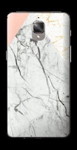 Marmor, rosa og gull Skin OnePlus 3T