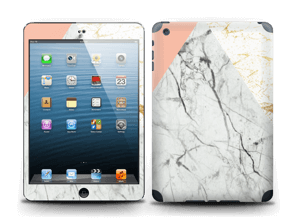 Marmor, rosa og gull Skin IPad mini 2