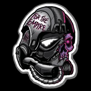 Pour l'empire! sticker