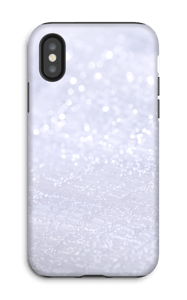 Paillettes Coque  IPhone X tough