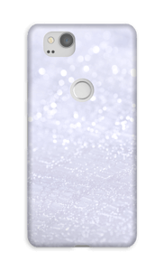 Violeta cintilante Capa Pixel 2