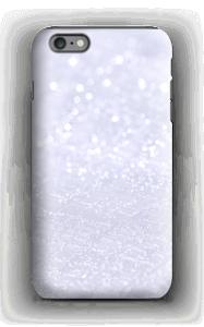 Violeta cintilante Capa IPhone 6 Plus tough