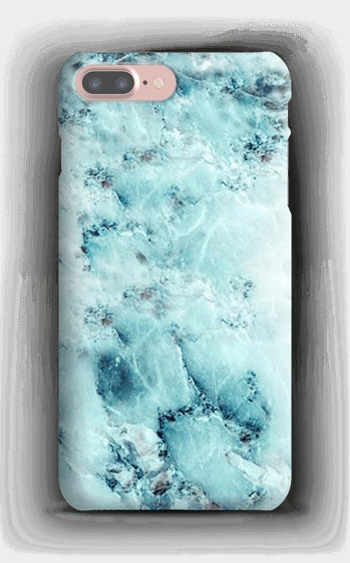 Light Blue Marble - iPhone 7 Plus case