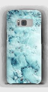Mármore azulado Capa Galaxy S8
