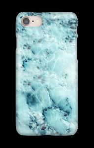 Mármore azulado Capa IPhone 8