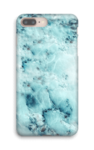 Marbre bleu Coque  IPhone 8 Plus