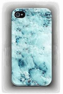 Vaaleansininen marmori kuoret IPhone 4/4s