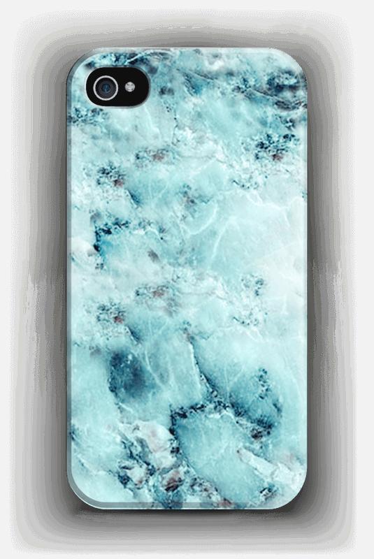 best authentic 7317f 38321 Light Blue Marble - iPhone 4/4s case