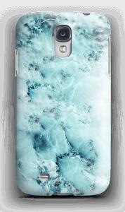 Vaaleansininen marmori kuoret Galaxy S4