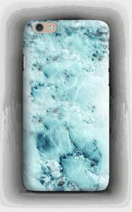 Vaaleansininen marmori kuoret IPhone 6 Plus