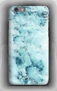 Lyseblå marmor cover IPhone 6s