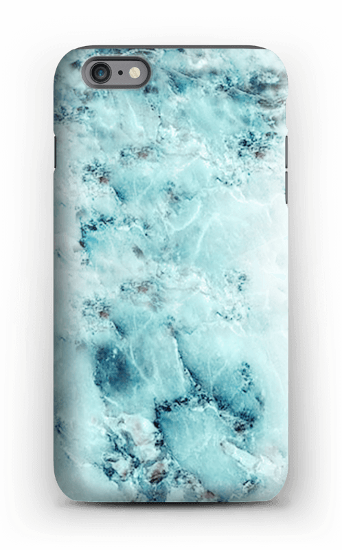 save off dca9d e1dd3 Light blue marble - iPhone 6 Plus tough case