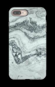 Vihertävä marmori kuoret IPhone 8 Plus tough