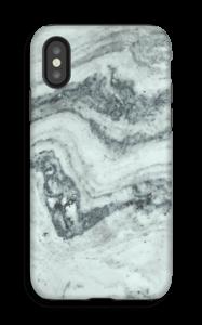 Vihertävä marmori kuoret IPhone X tough