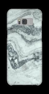 Groenig marmer hoesje Galaxy S8 Plus