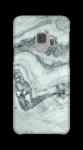 Groenig marmer hoesje Galaxy S9